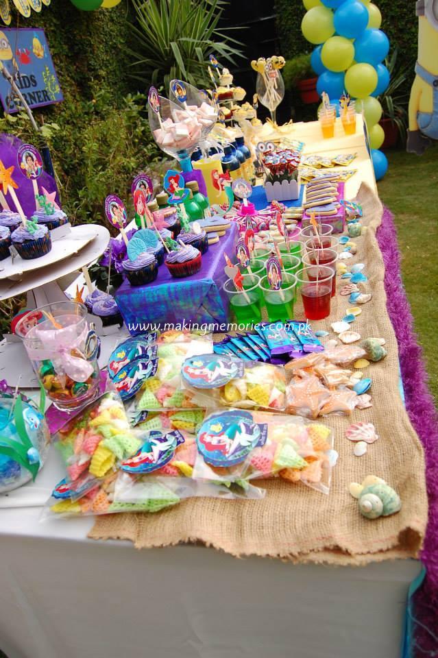 Minions Little Mermaid Making Memories Kids Birthday Party Designers