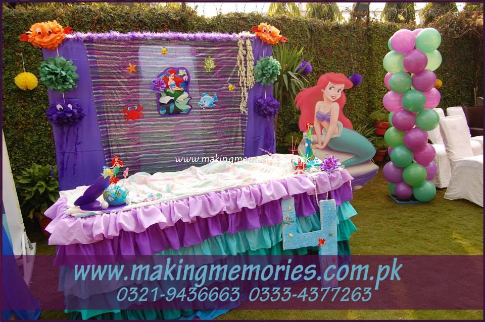 Minions & Little Mermaid - Making Memories Kids Birthday Party Designers