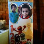 Sesame Street Birthday Party Banners