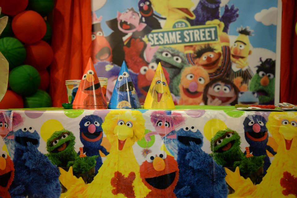 Sesame Street Birthday Party Cas