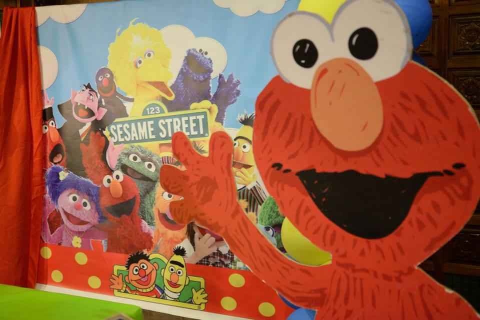 Sesame Street Birthday Party Cutout