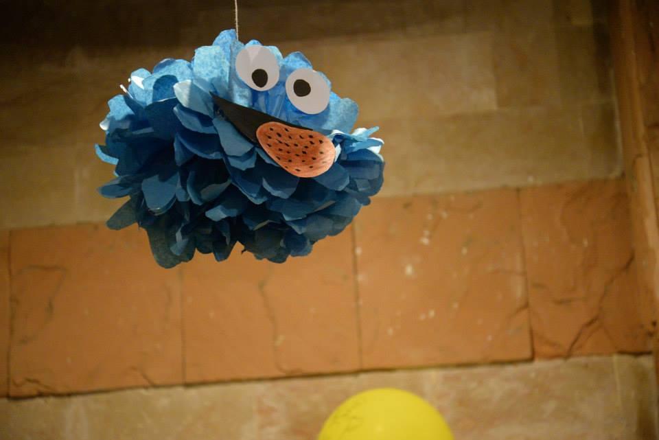 Sesame Street Birthday Party Decor