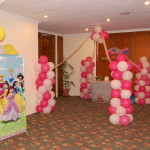 Balloon Castle Decor