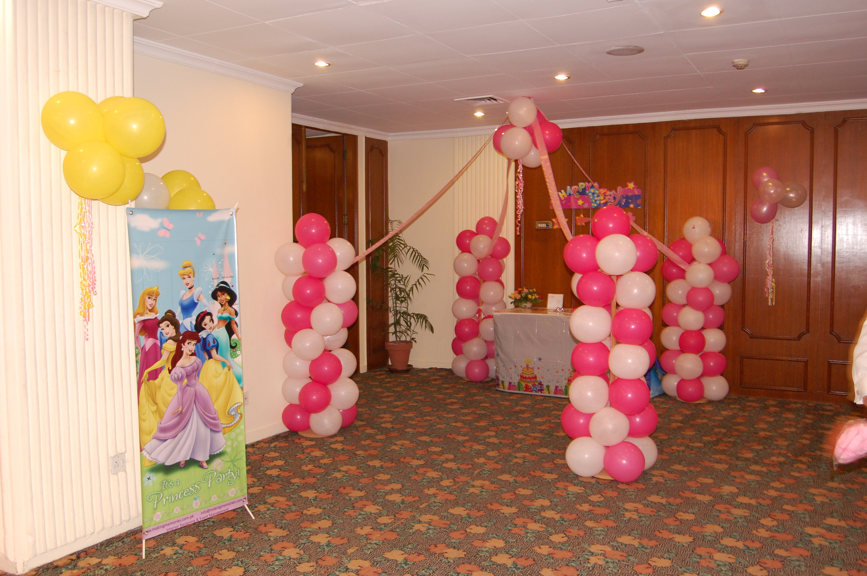 balloon decor - making memories kids birthday party designers