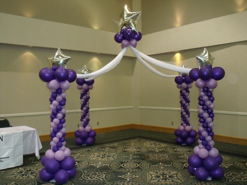Balloon Room Decoration Ideas