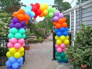 Multi Color Balloons Arch