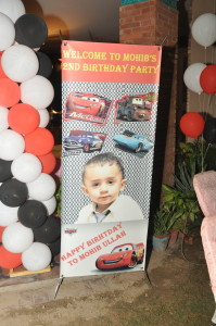 Custom Cars Theme Photo Stand