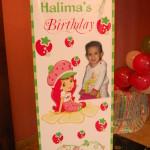 Custom Strawberry Short Cake Photo Stand