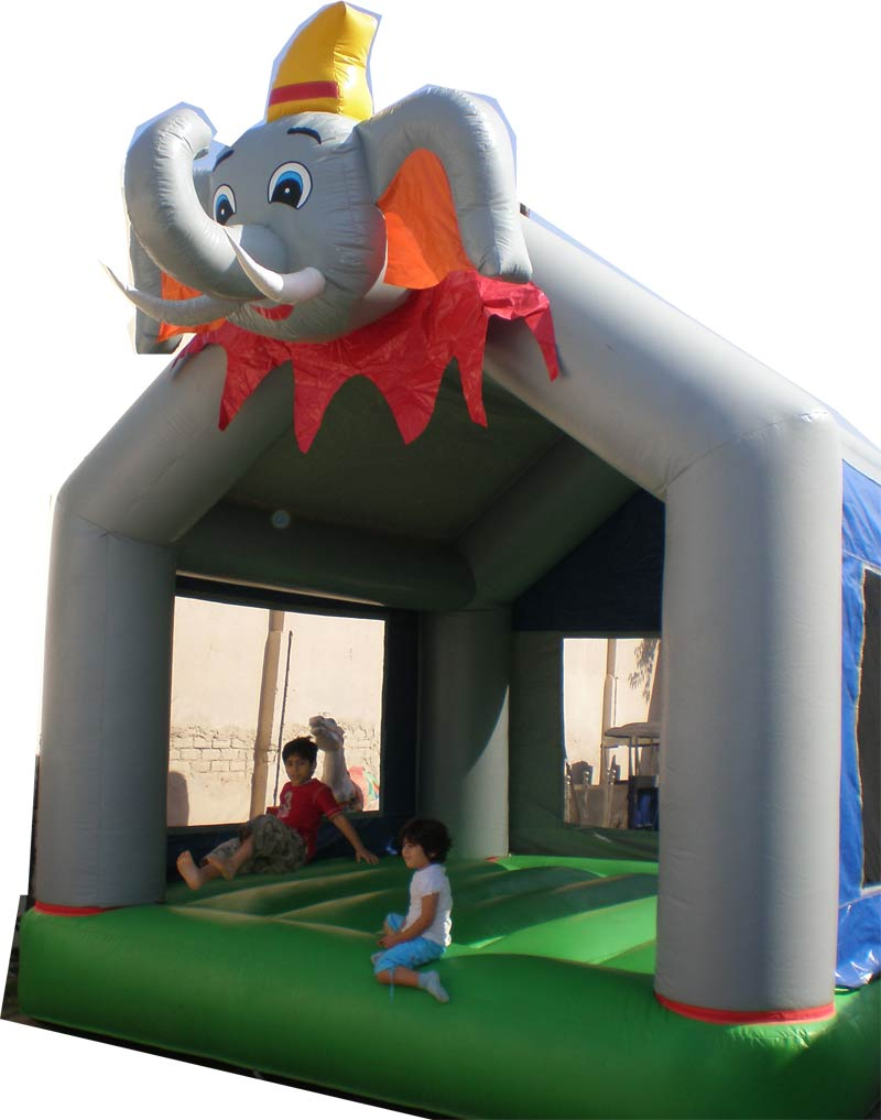 Jumping Gas Slides