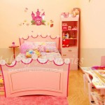 Princess Theme with Toy Stand and Princess Bed
