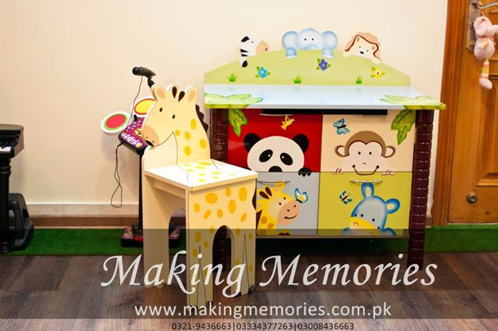 Kids Furniture with Jungle Theme